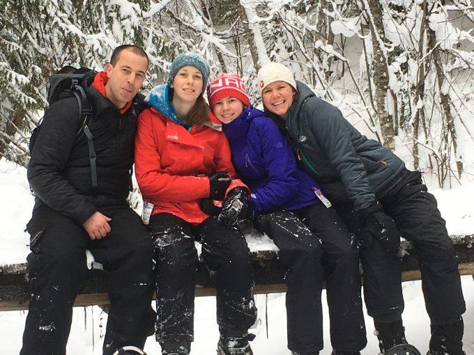 Savaya Hofsink and family