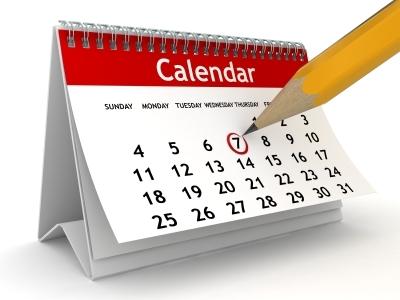 Vernon Secondary calendar