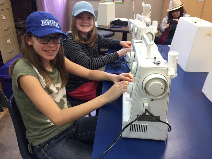 Vernon Christian School textiles