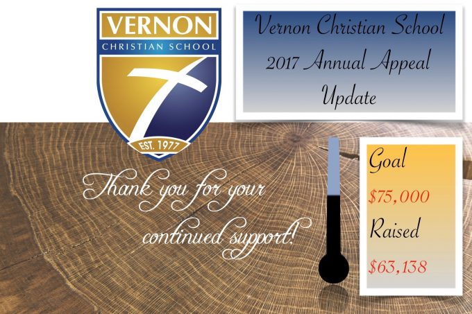 Annual Appeal Update Slider