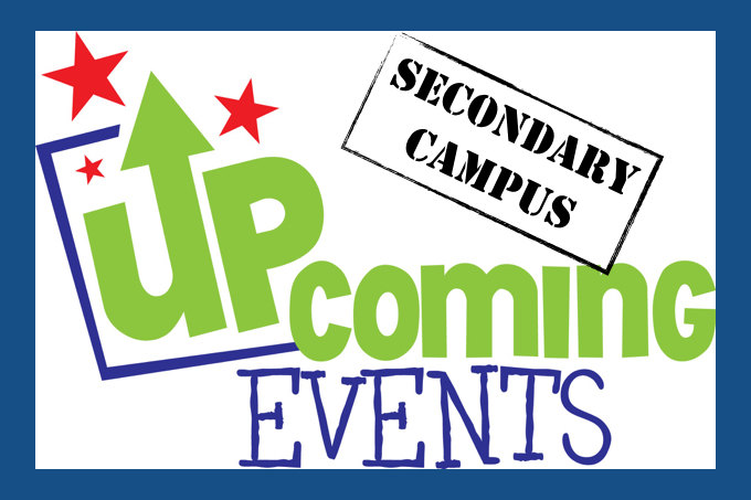 upcoming events.secondary