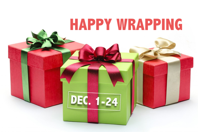 VCS Christmas Gift Wrapping
