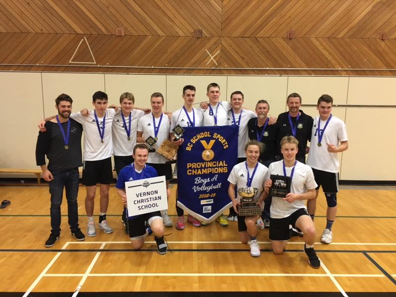 VCS Athletics Volleyball Champions